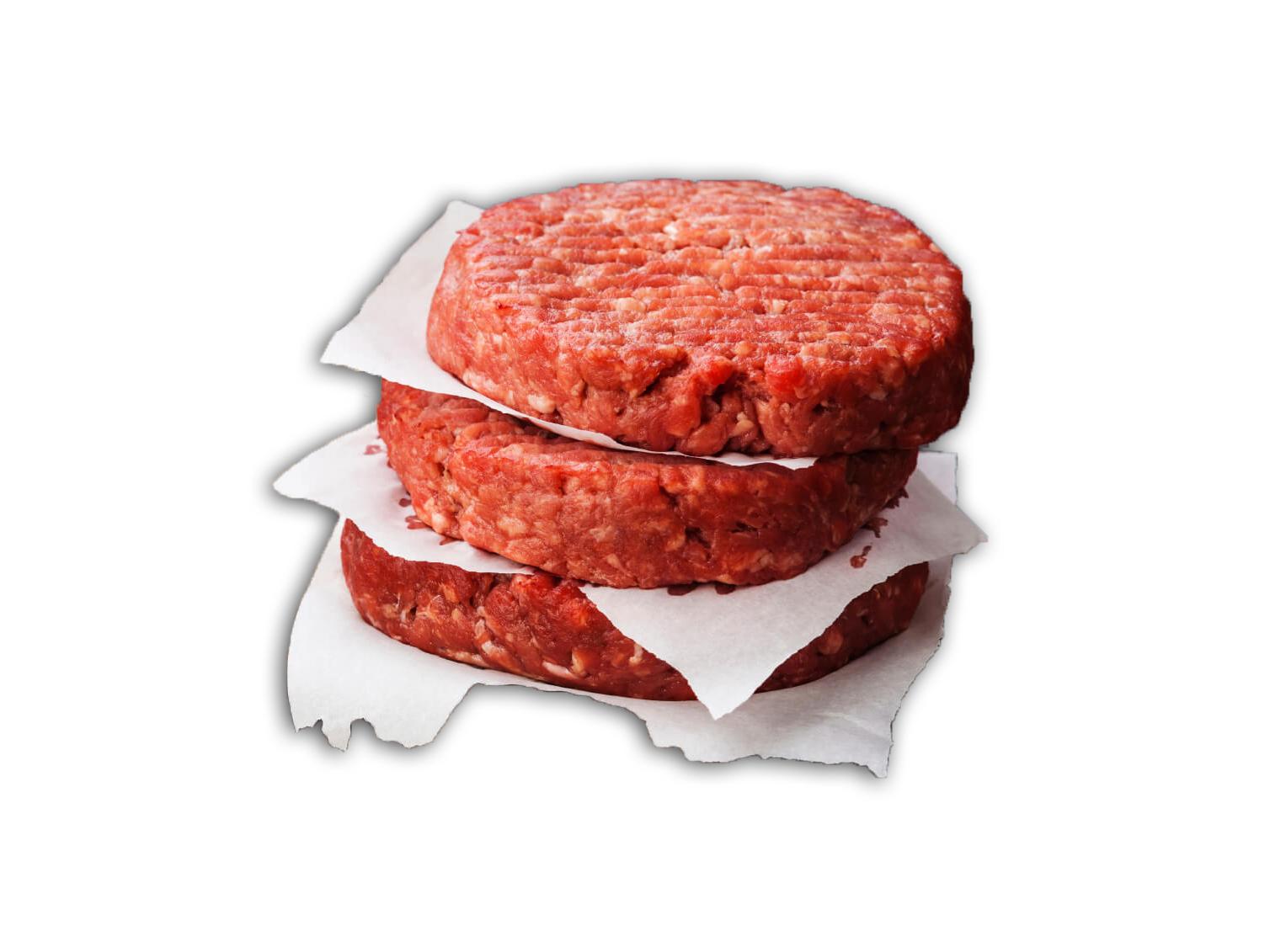 Beef Patties, Glatt kosher