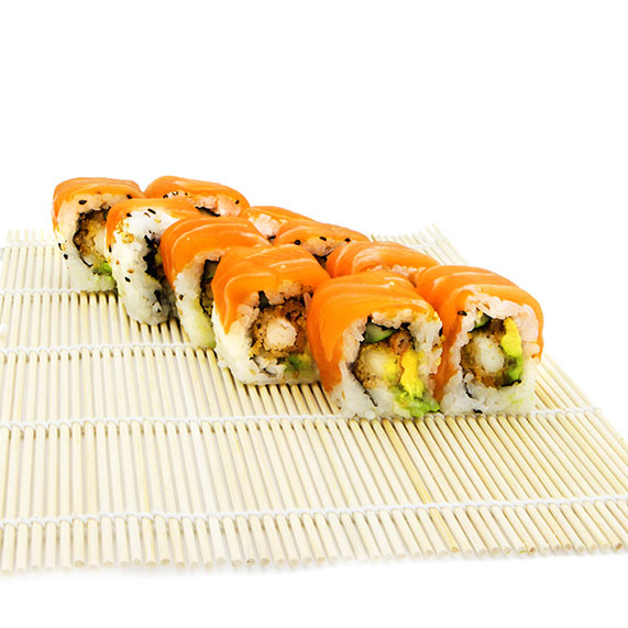 Dragon salmon Roll
