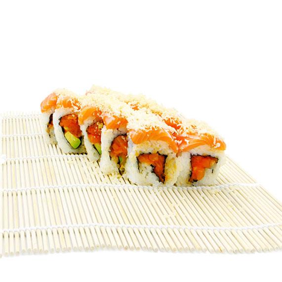 Crunchy Salmon Roll