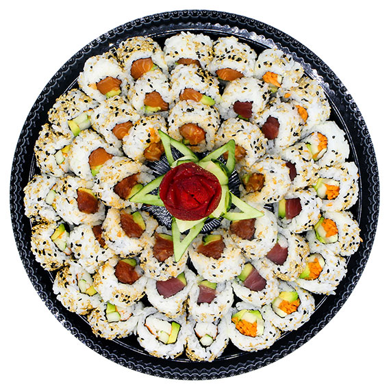 12″ Basic sushi platter