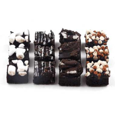 Mini Assorted Brownies