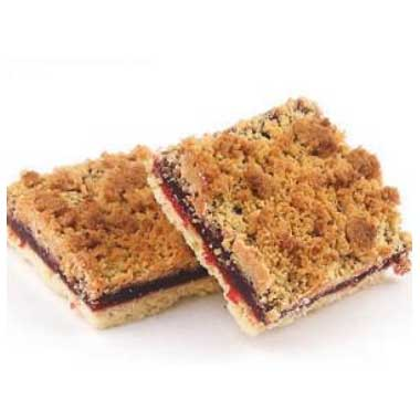 Raspberry Crumb Bar