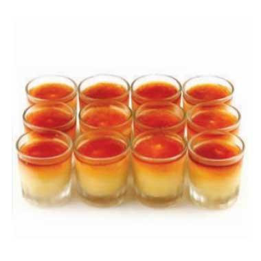 Crème Brulee Shot Glasses