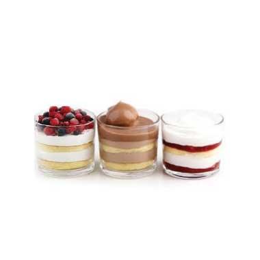 Berry, Cream Puff and Strawberry
