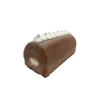 8″ VANILLA CHOCOLATE ICE CREAM CAKE LOG