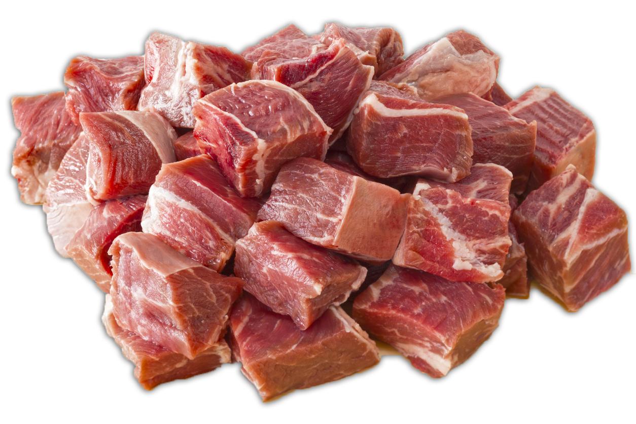 Veal Stew Cubes, Glatt kosher