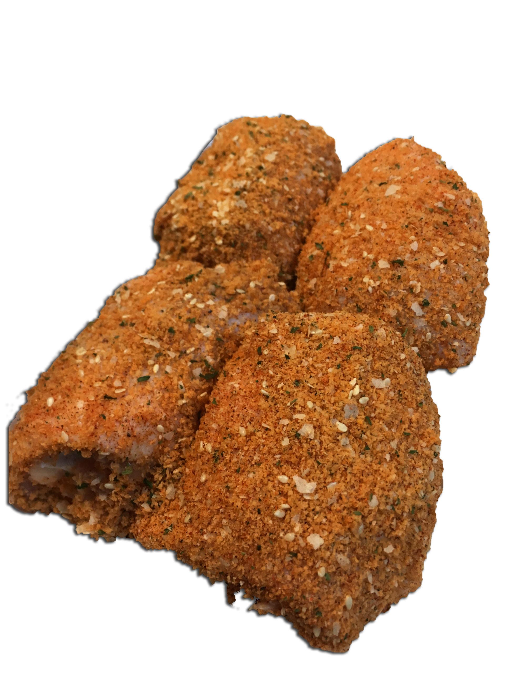 Breaded Pargiot, Glatt kosher