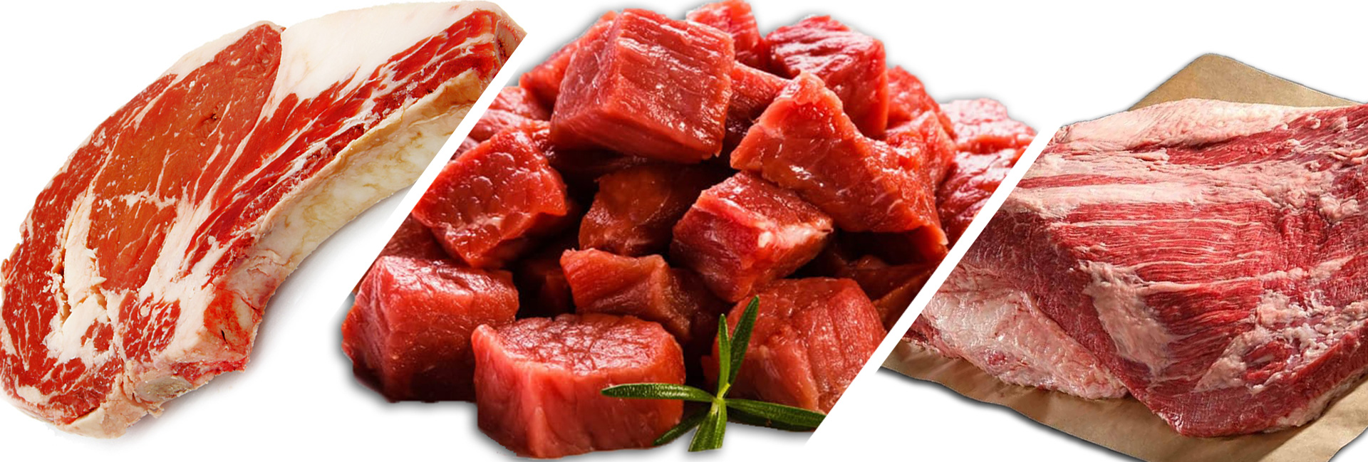 Fresh meat, poultry and fish